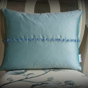 Aqua crystal cushion