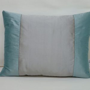 Tutti Frutti cushion pewter/aqua