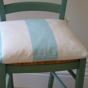 Striped Seat Cushion