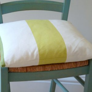 Lime/green Amalfi stripe