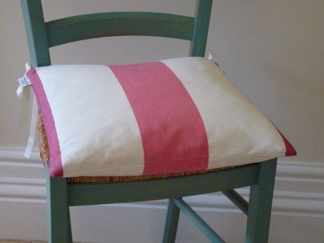 Pink/rose Amalfi stripe