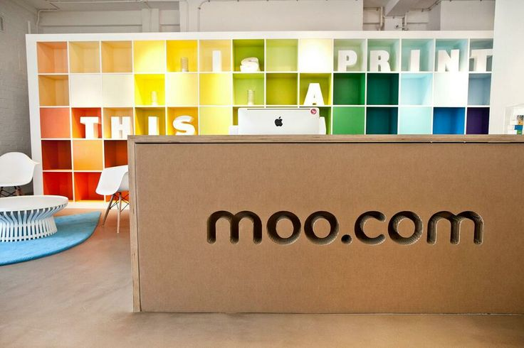 moo.com's London office